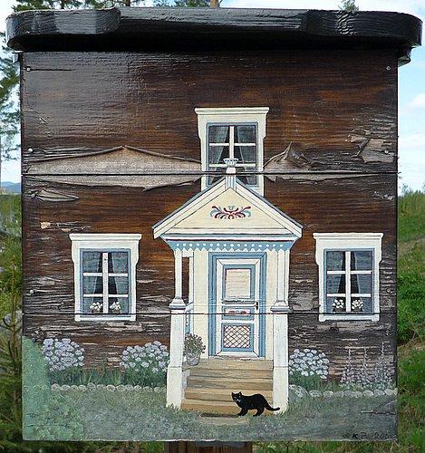 schwedischer briefkasten schwedenimmobilien hauskauf bau renovierung. Black Bedroom Furniture Sets. Home Design Ideas